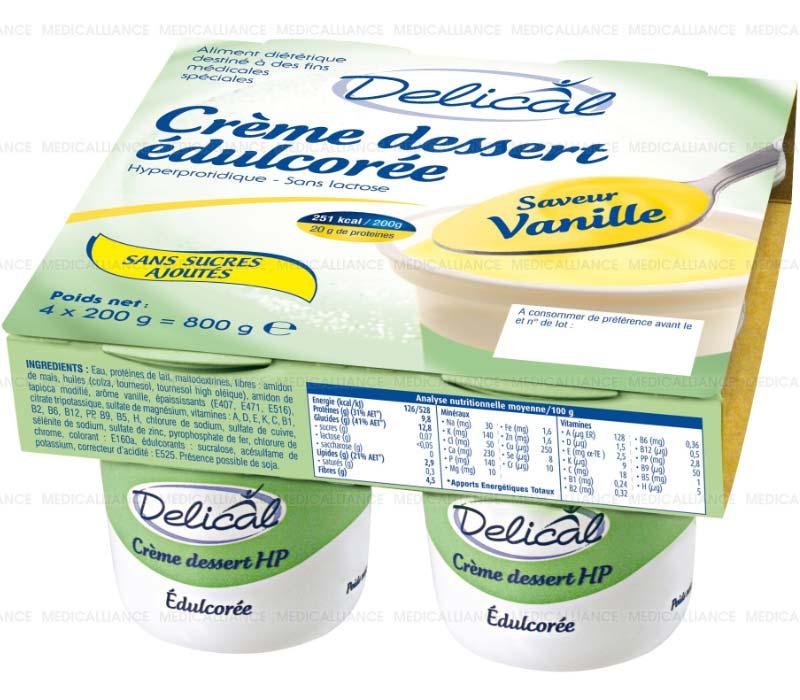 fortimel crème dessert